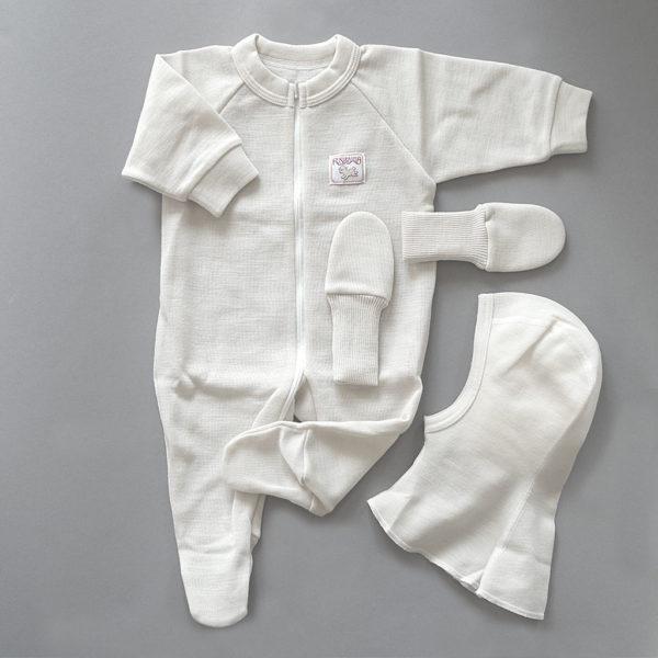 Baby Overall Bio-Merinowolle