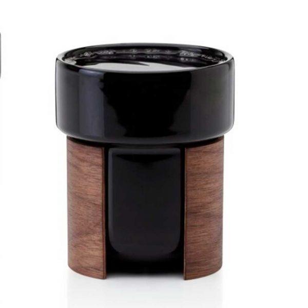 Warm Kaffeetasse schwarz von Tonfisk bei Nordic Butik