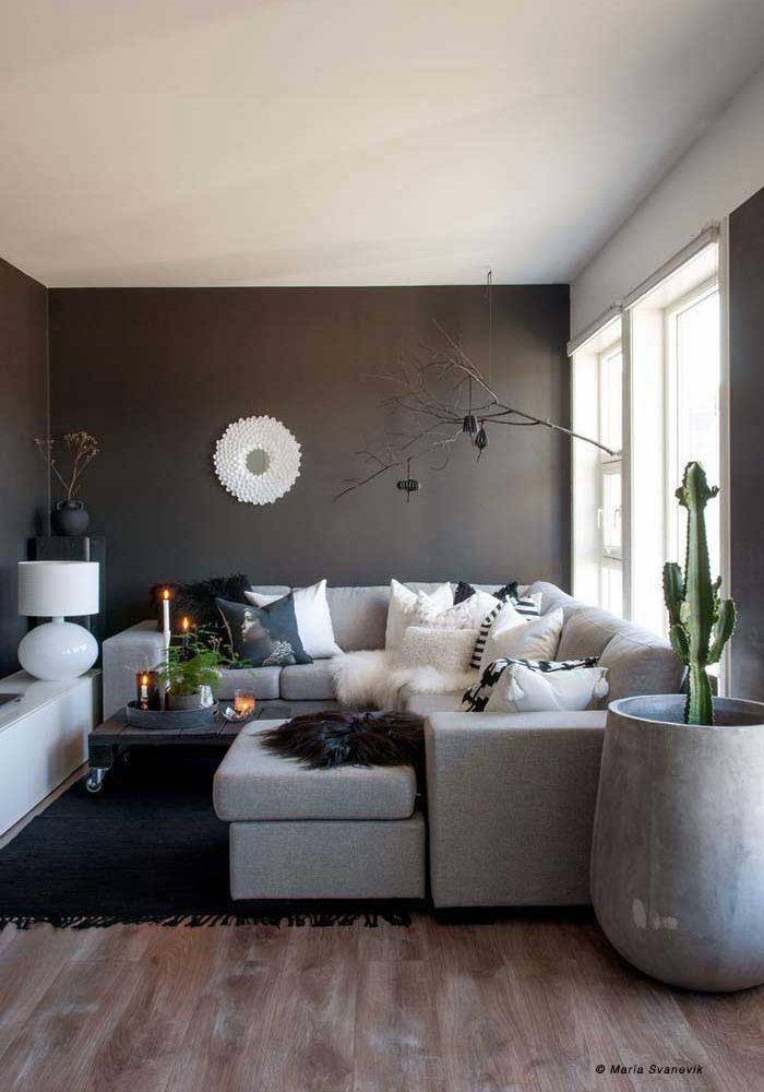Skandinavische Stil in Norwegen Wohnzimmer