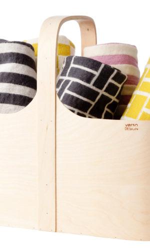 Zeitloses Design KOPPA Körbchen aus Birkenholz bei Nordic Butik