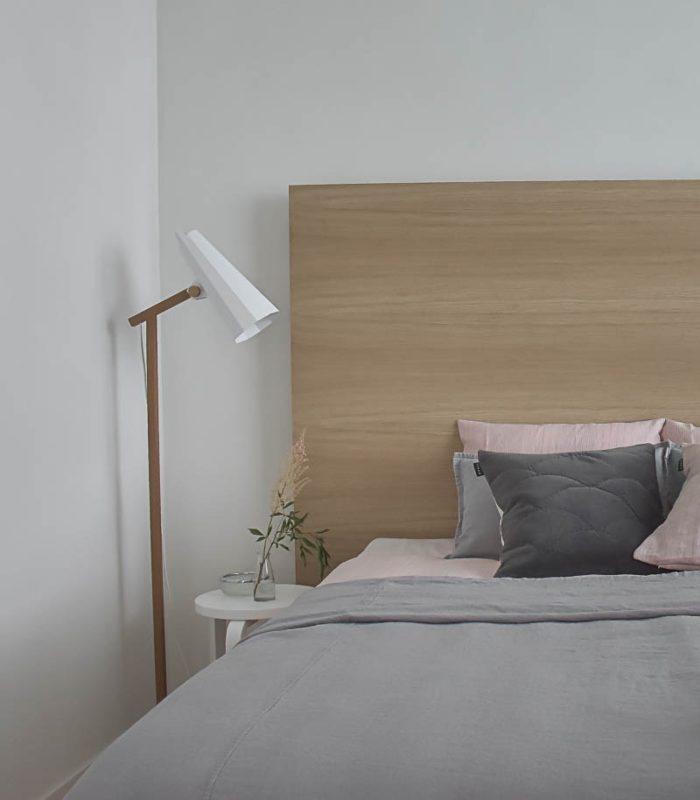 zeitloses Schlafzimmer Photo Credit @taivaldeco