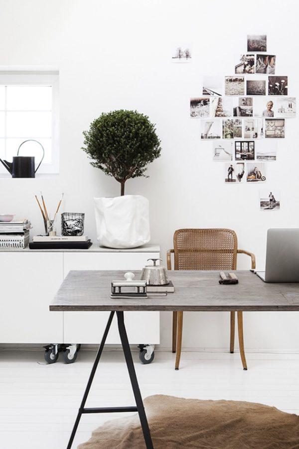 skandinavische Home-Office