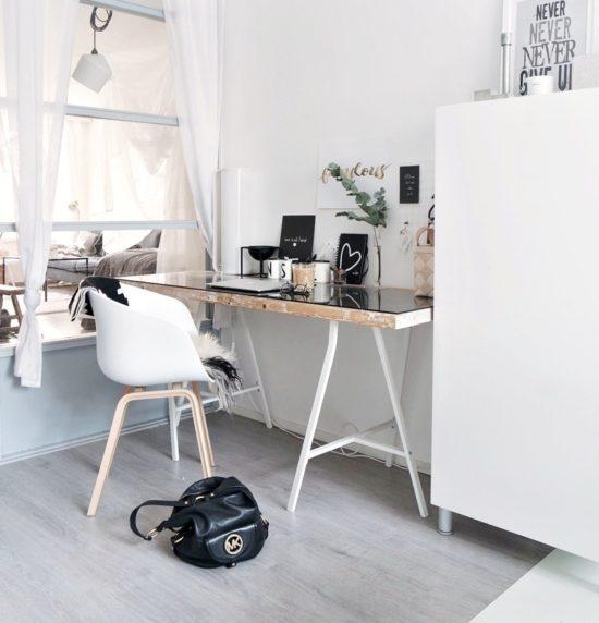 Skandinavischer Arbeitszimmer
