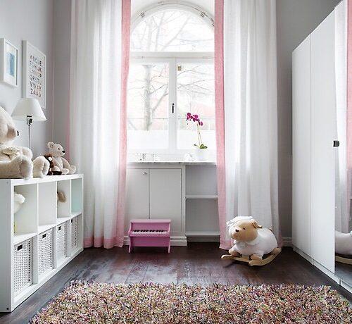 Kinderzimmer in Pink