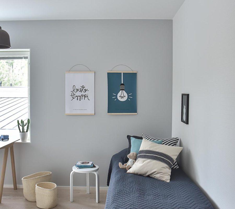 Kinderzimmer im harmonische skandistyle