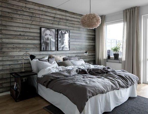 Schwedische Stil Schlafzimmer gemütlich gestalten