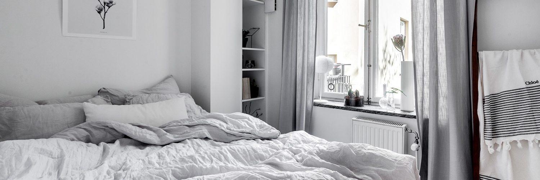 gemütliche Schlafzimmer in skandinavische Stil Nordic Living