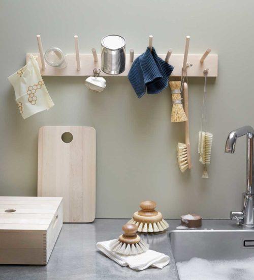 Skandinavische Küchentextilien Iris Hantverk Bürste Handgearbeitet Nordic Butik