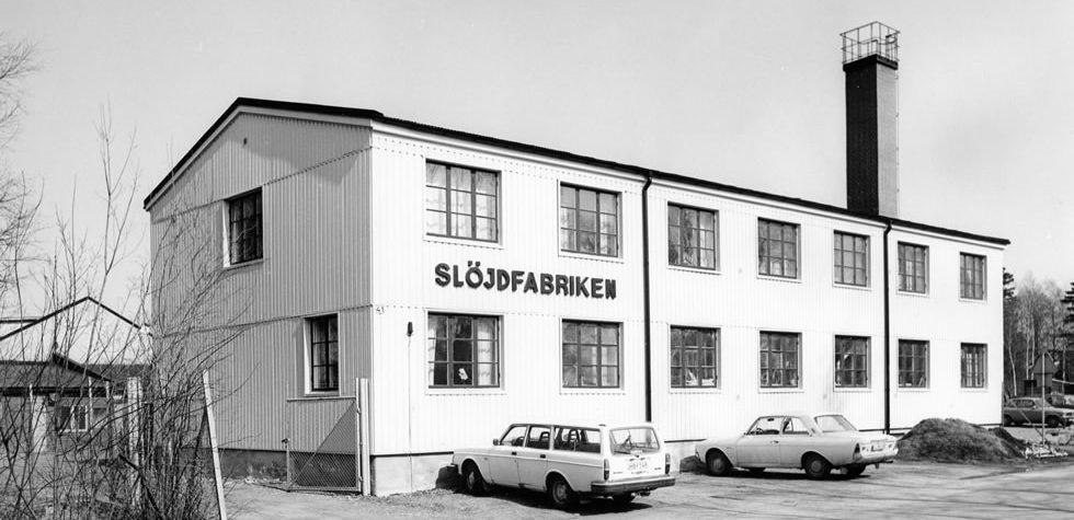 Iris Hantverk Slöjdfabriken in Schweden