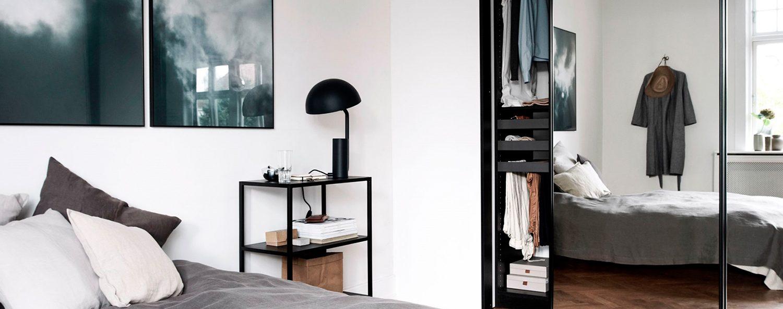 Kleiderschrank im Skandinavischer Stil blog nordic butik