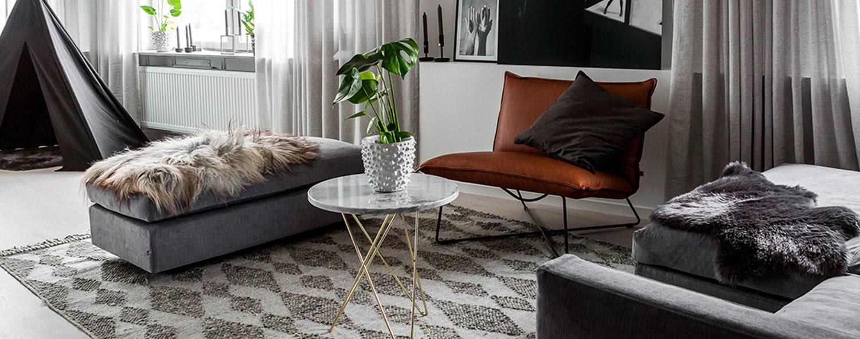 Teppich kaufen: Teppich für Wohnzimmer Nordic Butik Blog