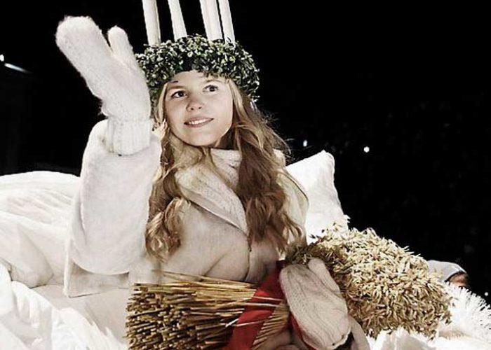 Das Luciafest in Schweden
