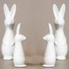 skandinavische osterhase rabbit aus Keramik