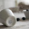 Bruka Design Eierbecher weiss Keramik