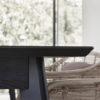 Esstisch aus Eichenholz Schwarz Nordic Butik