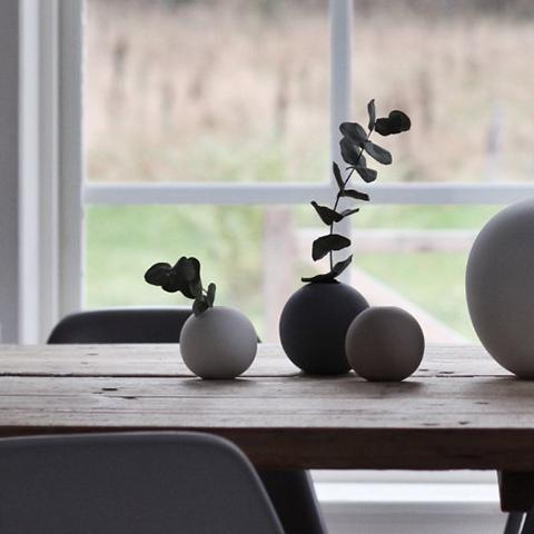 Cooee Design Ball Vase 10cm Nordic Butik