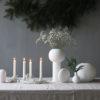 Ball Vase Weiß Cooee Design Nordic Butik