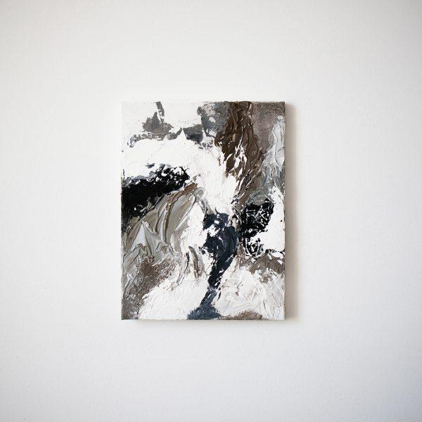 """DARING"" Handgemalte Abstraktes Acrylbild 30x40cm My Nordic Studio"