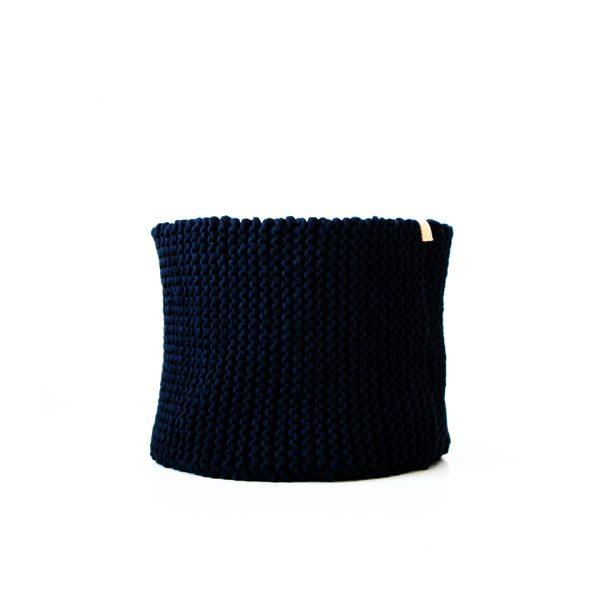 Handgemacht Gehäkelte Korb aus recycelte Baumwolle kaufen Nordic Butik