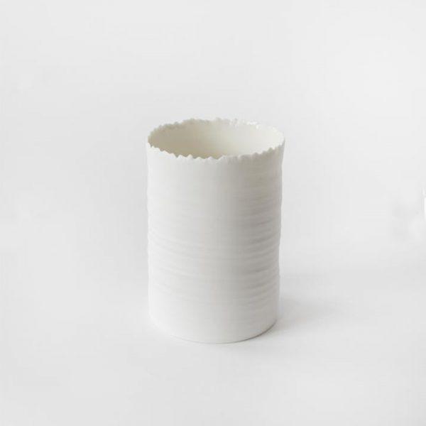 BOOM Laterne weiss Keramik kaufen Nordic Butik