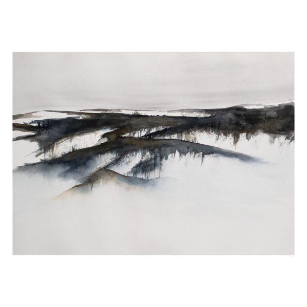 Aquarellfarbe Gemälde Kunst Piritta Sillan