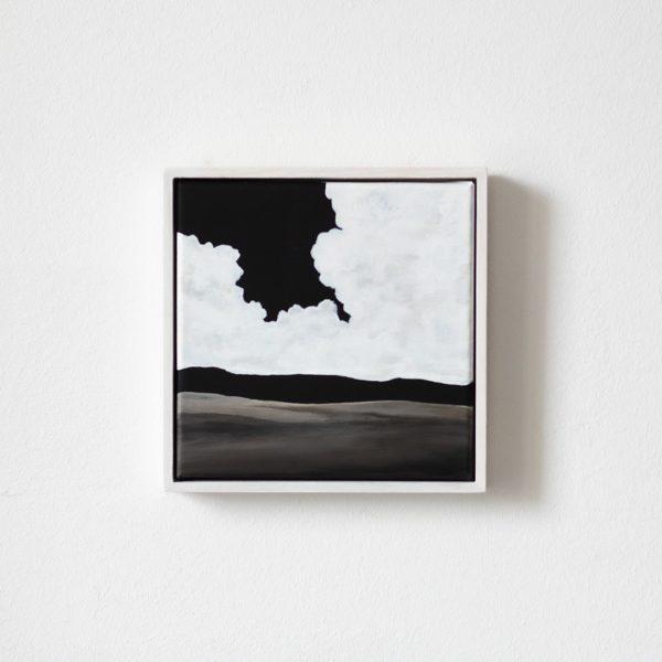Acrylbild Canvas Cloudy mit rahmen Piritta Sillan my Nordic Studio