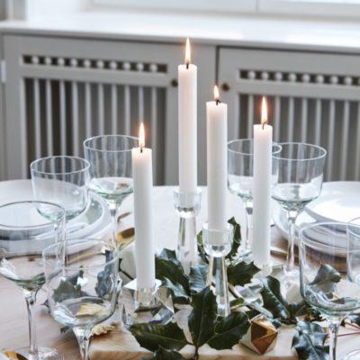 Kerzenhalter aus Glas bei Nordic Butik